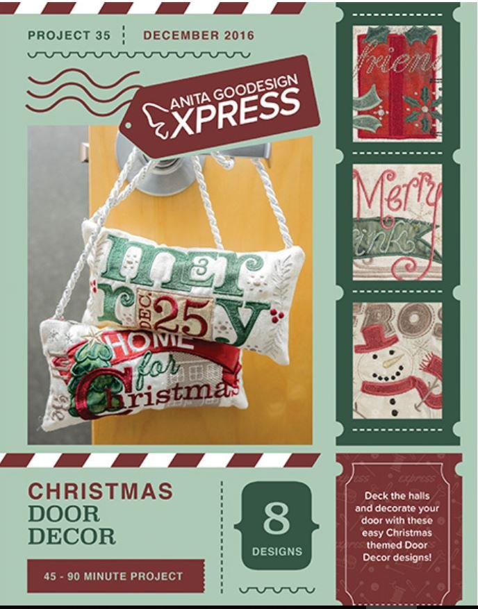 Anita's Express – Christmas Door Decor