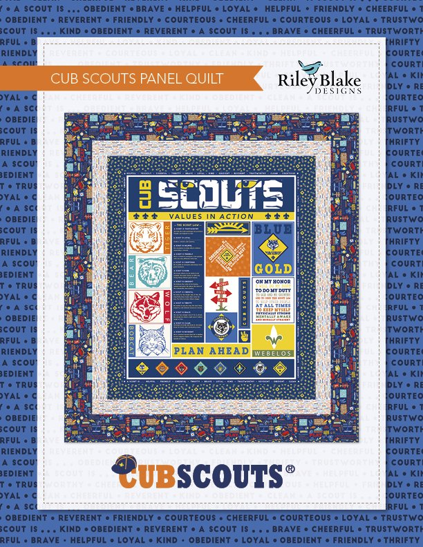Cub Scouts Quilt Kit