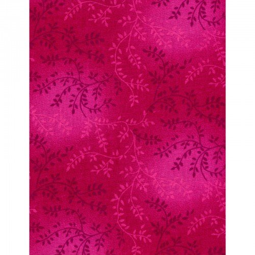 Chantille 108 Wide Quilt Backing Dark Pink