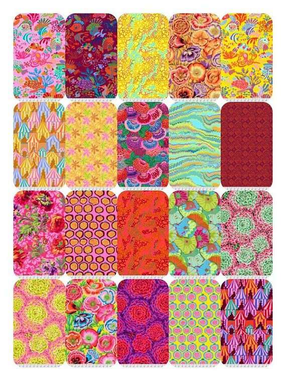 Kaffe Fassett Spring 2018 Fat Quarter Bundle