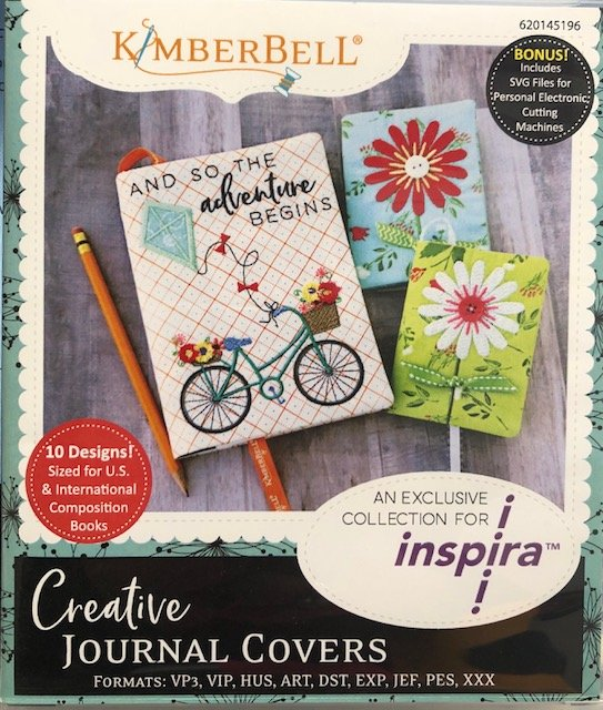 Inspira USB Kimberbell Crative Journal Covers