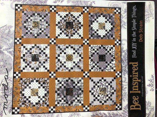 Bee Inspired Fabric Kit