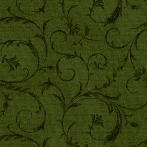 108 Beautiful Wide Backing Dark Green