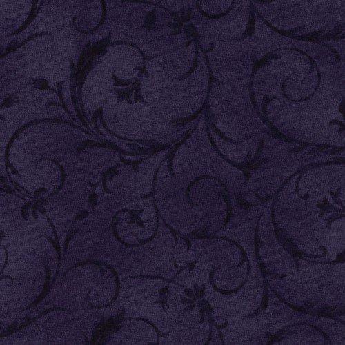 108 Beautiful Wide Backing Deep Purple