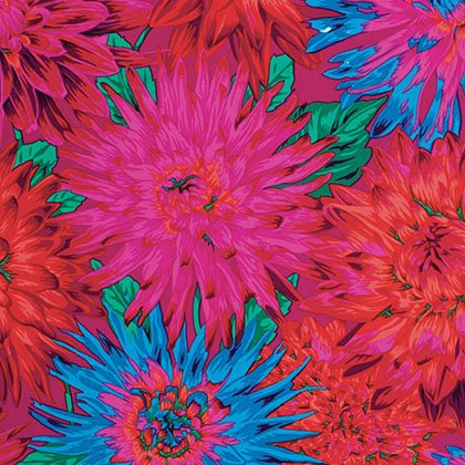 Philip Jacobs - Spring 2012 - Cactus Dahlia - Red