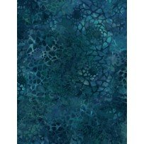 Mosaic Dark Blue/Green 108 Wide Backing
