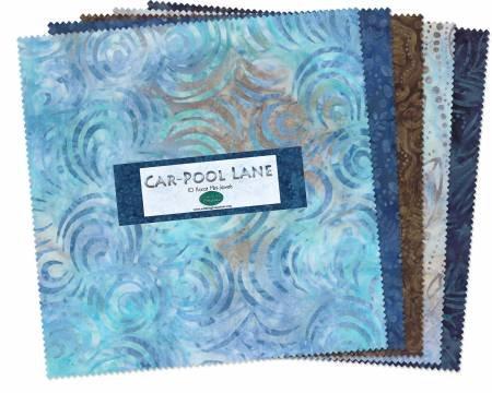 40 - 2.5 Strips Car Pool Lane Batik 40 Karat Jewels