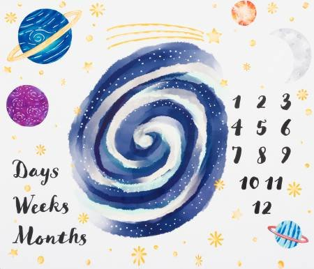 36 White Space Days Weeks Months