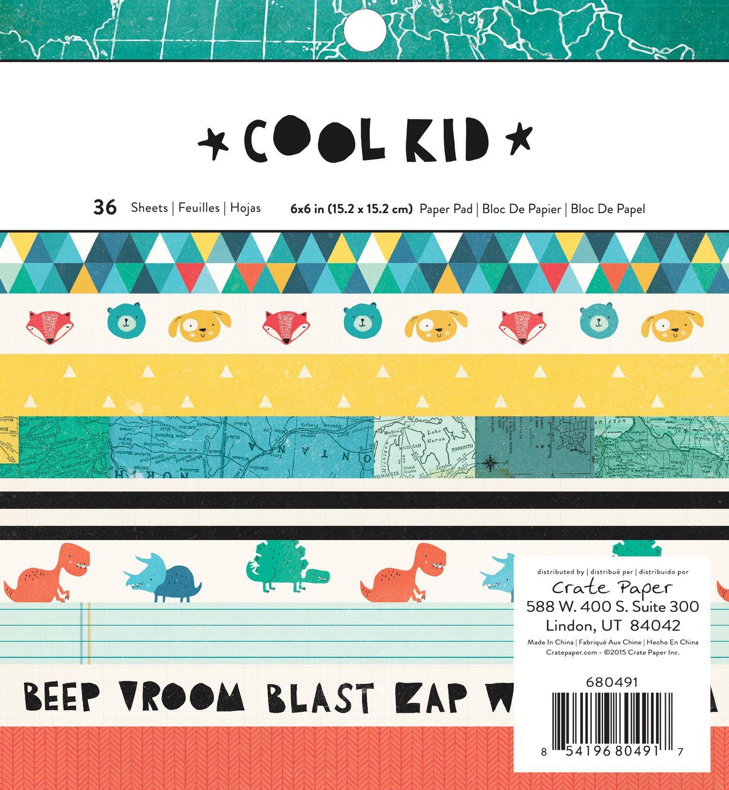 Cool Kid 6x6 Paper Pad