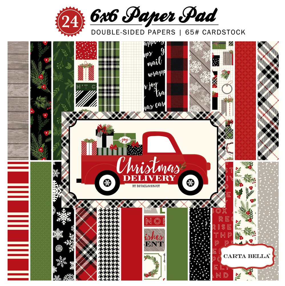 Christmas Delivery 6x6 Paper Pad