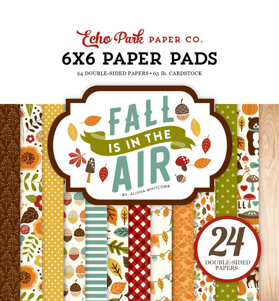 Fall is in the Air 6x6 Paper Pad