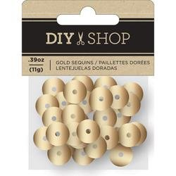 DIY Shop Gold Sequins
