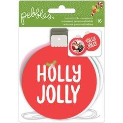 Holly Jolly Custom Ornaments