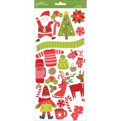 Holly Jolly Accent Stickers