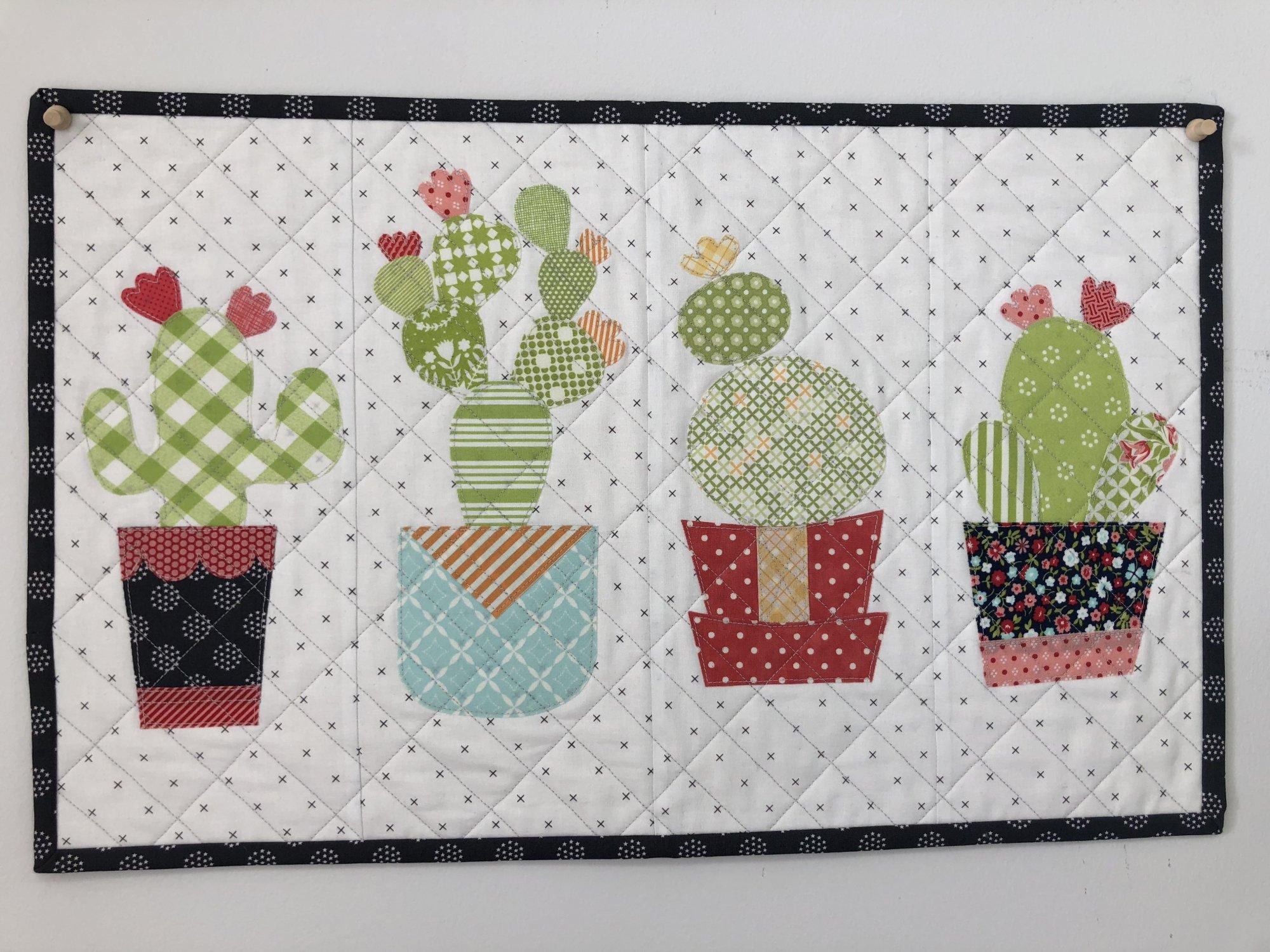 042618 Lil Baby Cactus Mini Quilt Class