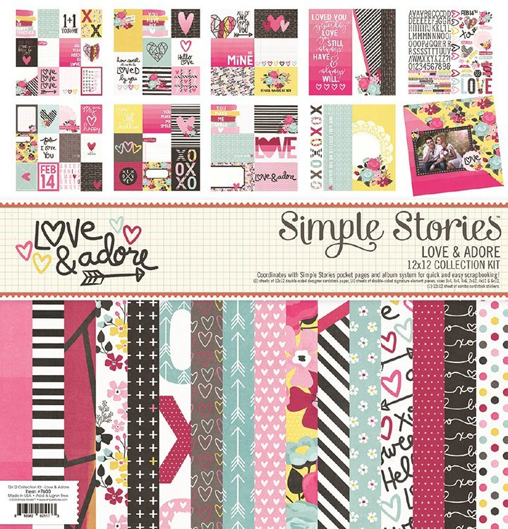 Love & Adore 12x12 Collection Kit