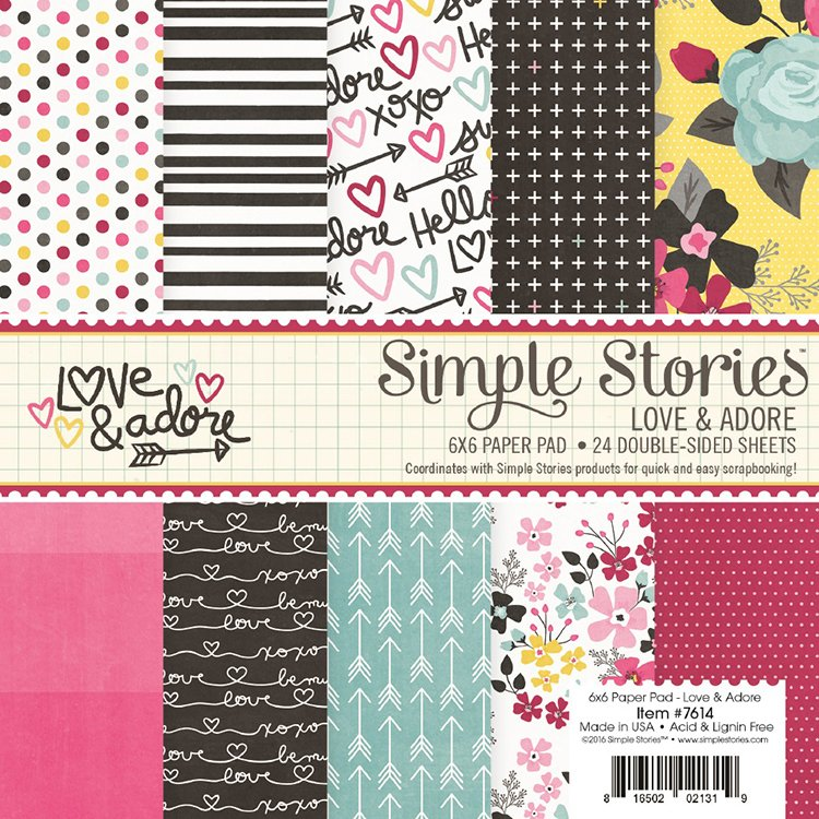 Love & Adore  Washi Tape