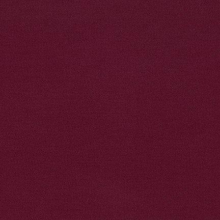 Arietta Ponte De Roma Solid Burgundy