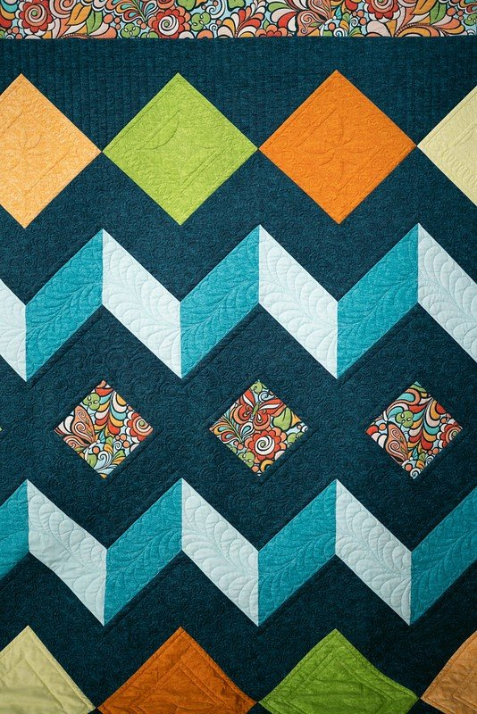 Diamonds Quilt & Thread Kit Bundle