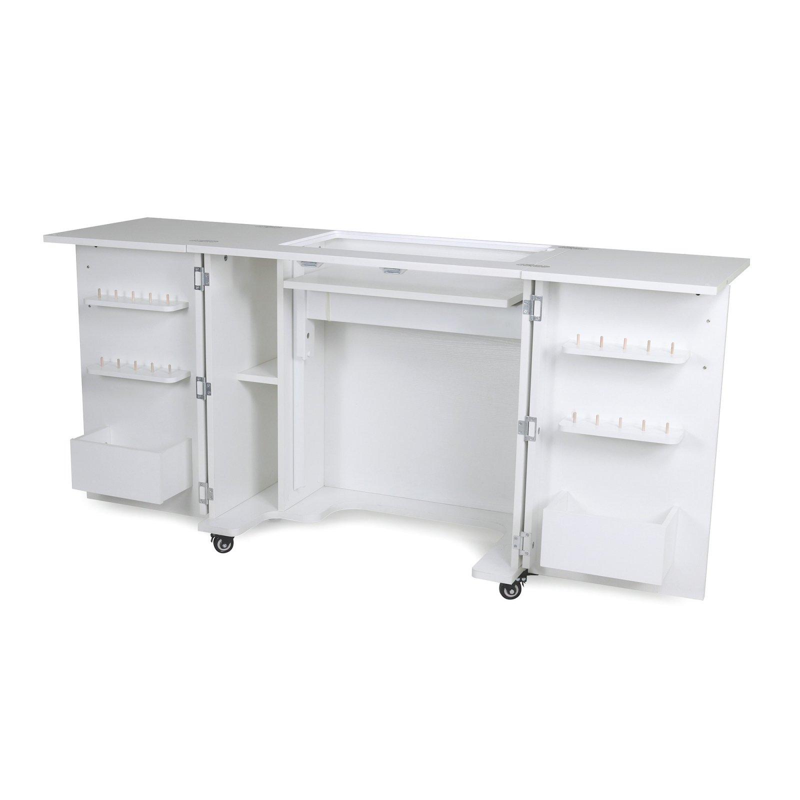 Bandicoot II Sewing Cabinet - White - Kangaroo Sewing Furniture