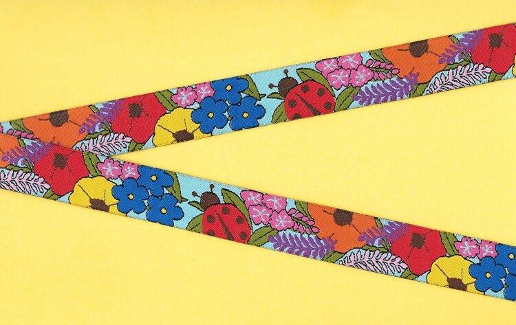 Jacquard Trim Alaskan Floral 5yd Pack