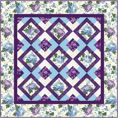 Garden's Grace Quilt Kit