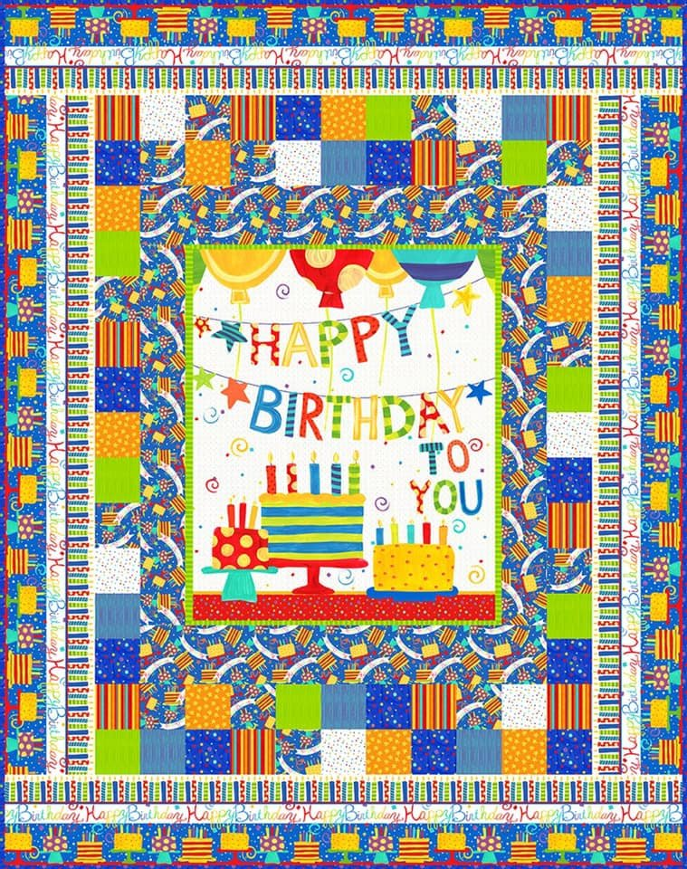 Happy Birthday Quilt Kit