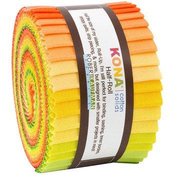Kona Strips Half Rolls Citrus Fruit Palette 2.5in