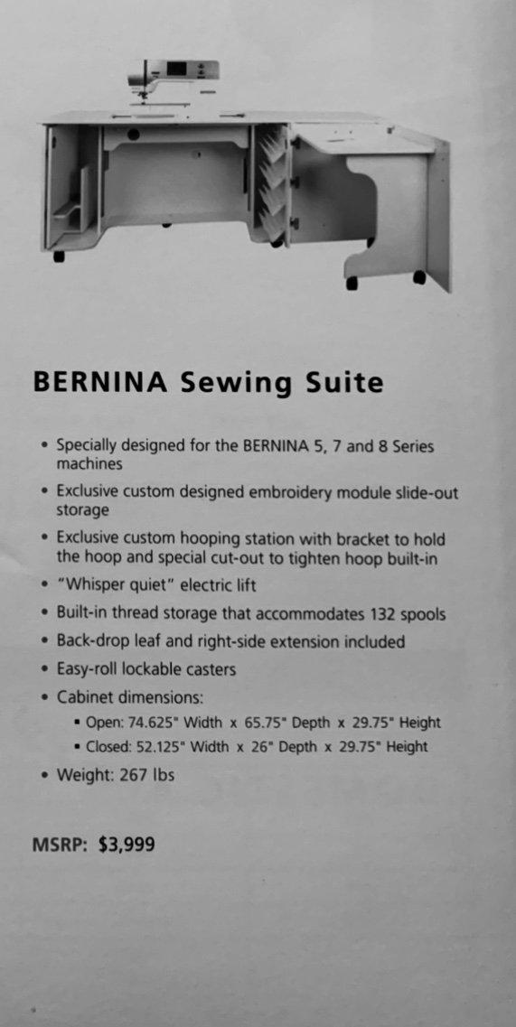 BERNINA Sewing Suite