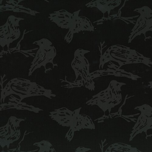 Hoffman Batik Ravens