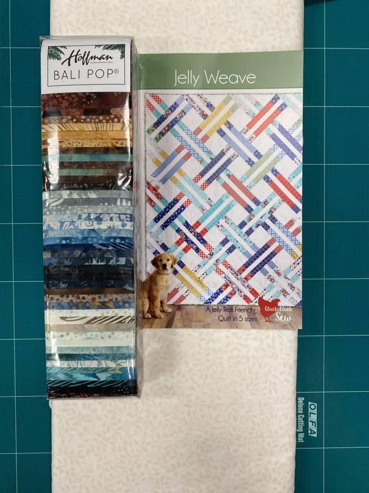 Jelly Weave Horizon Quilt Kit