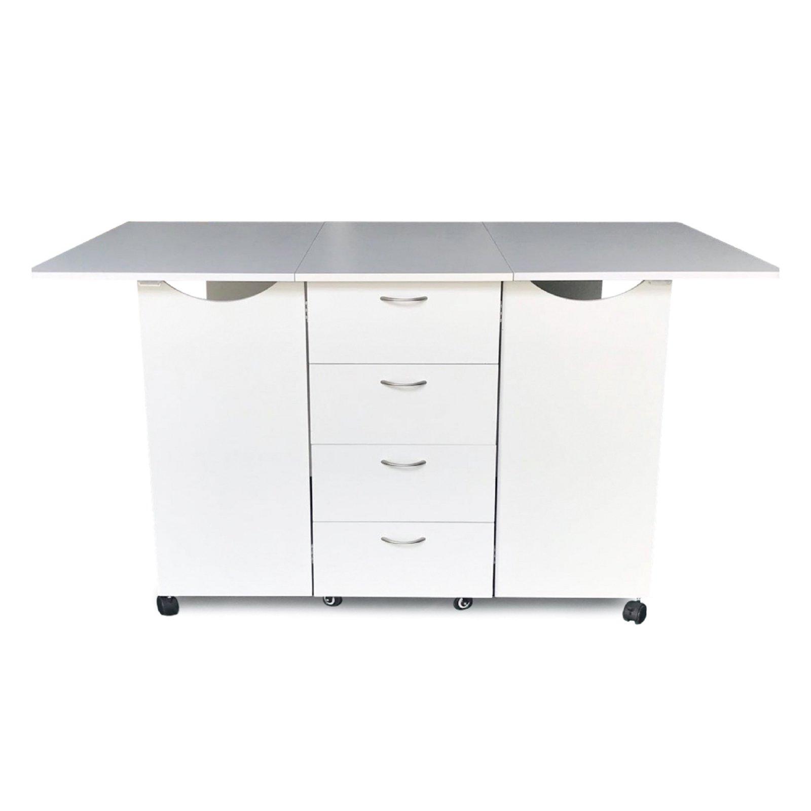 Kookaburra Cutting Table - Ash White - Kangaroo Sewing Furniture