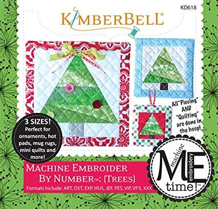 Kimberbell Machine Embroider by Number: Tree