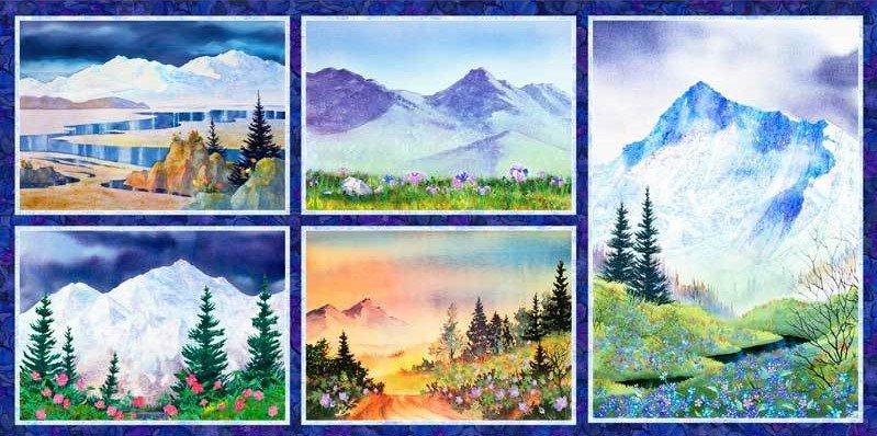Majestic Mountains  Panel