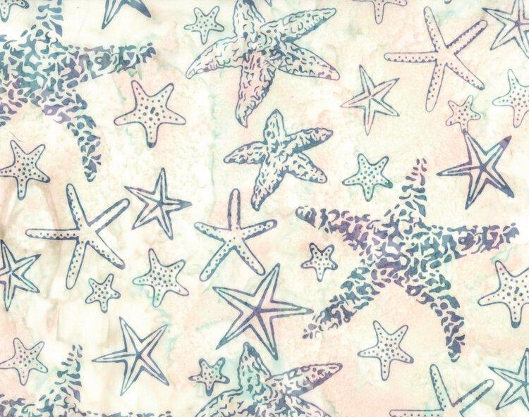 Hoffman Bali Batik Starfish