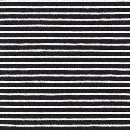Harbor Stripe Jersey Black