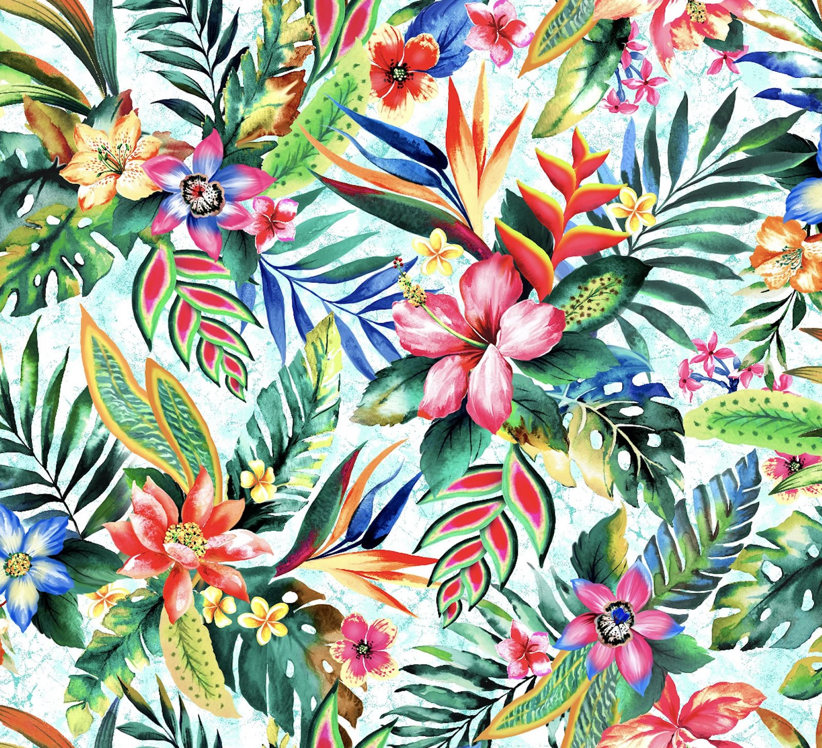 Tropic Large Floral Sky