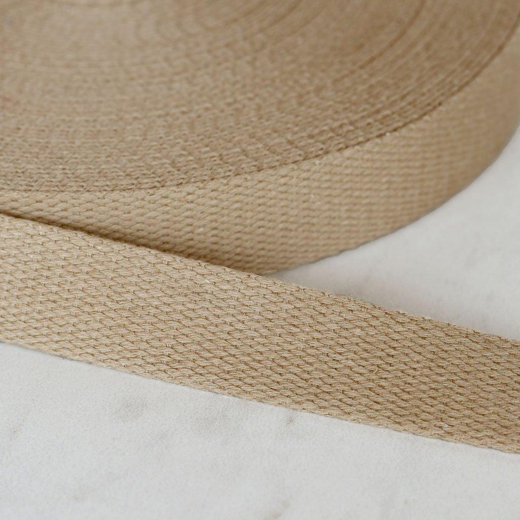 Cotton Webbing 1 100% Ctn Khaki
