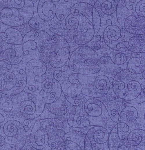 110 Willow Flannel Backing Purple
