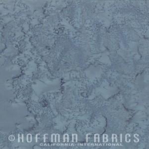 Hoffman Bali - Volcano - Watercolour - Blue