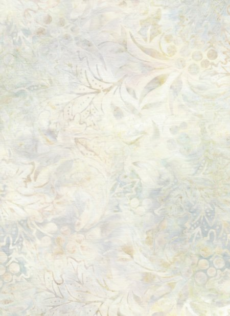 Anthology Bali - Leaves- Cream/Lt Green