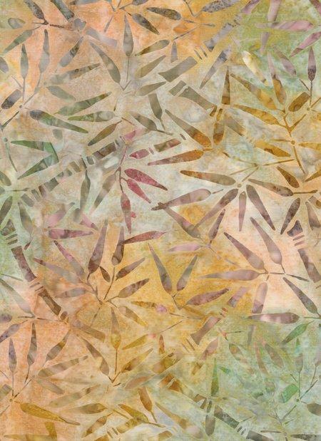 Anthology Bali - Leaves - Yellow/Muti