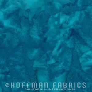 Hoffman Bali - Wade - Watercolour - Blue