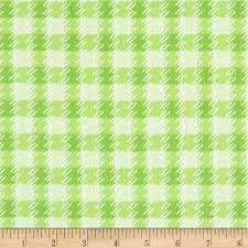 Zoo Baby Flannel - Texture - Green