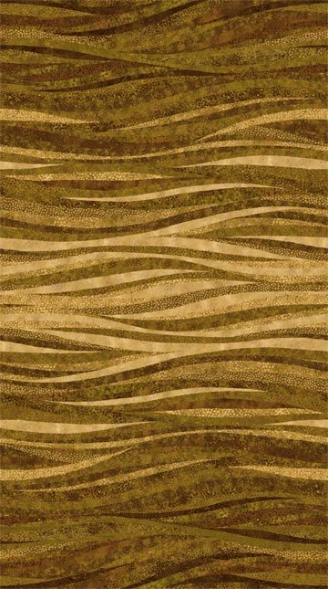 Shimmer Additions - Stripes - Brown/Gold