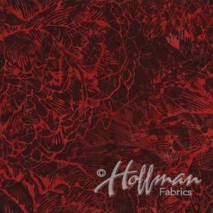 Hoffman Bali - Texture - Red