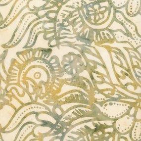 Anthology Bali - Leaves - Cream/Sage