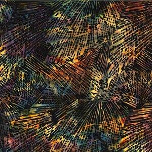 Hoffman Bali  -  Texture - Black/Multi