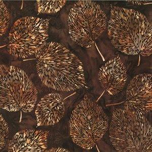 Hoffman Bali  -  Leaves - Brown