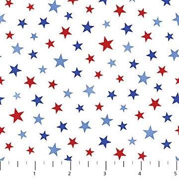 All Star Hockey - Stars - White/Blue/Red